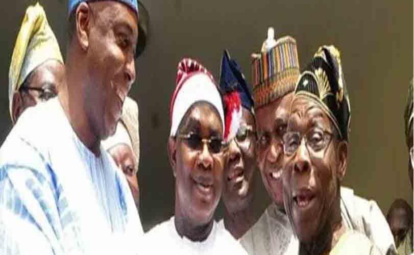 NASS crisis: Obasanjo, Saraki in closed-door meeting