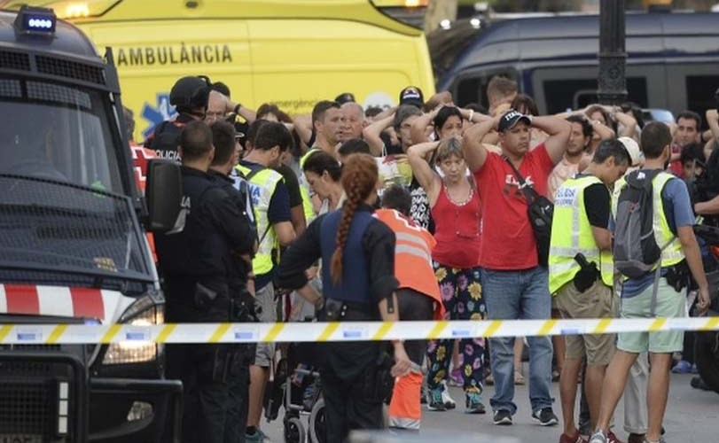 Barcelona players to pay tribute to victims of attack