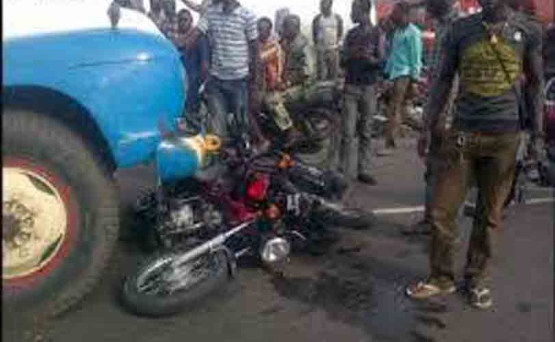 Truck Crushes Commercial Motorcyclist To Death In Ogun