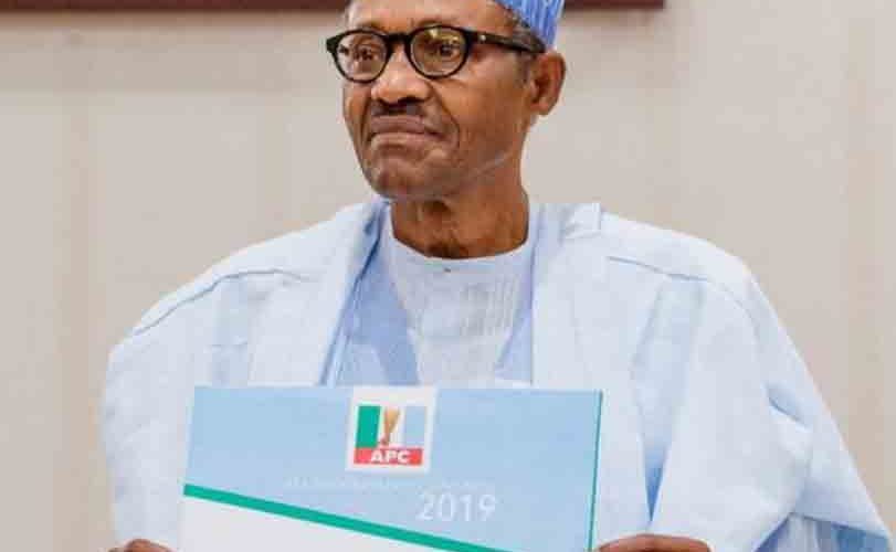 Security beefed up at APC Secretariat as Buhari submits nomination forms
