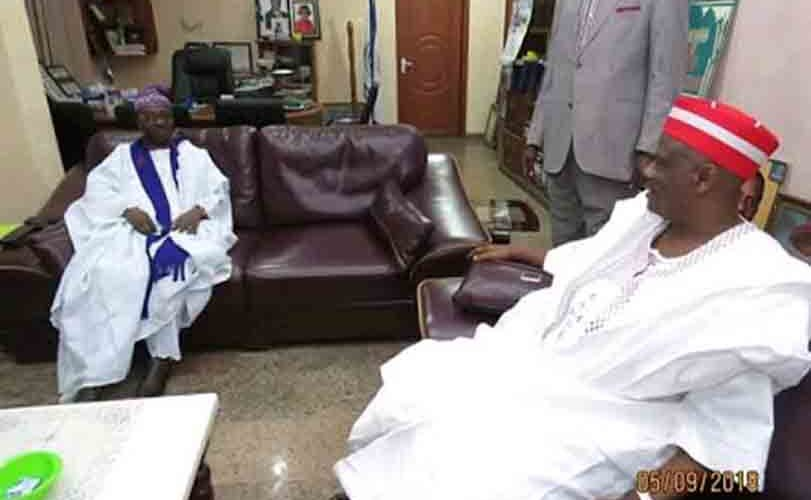 Kwankwaso Visits CAN National President (Photos)