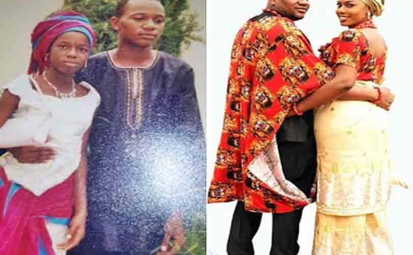 School Father Finally Marries School Daughter Years Later (Pics)