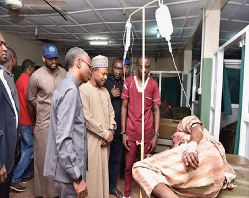 El-rufai Visits Survivors Of Kaduna Violence In Hospitals (Pics)