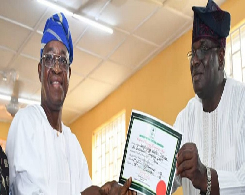 Osun poll: Tribunal orders substituted service on INEC, Oyetola
