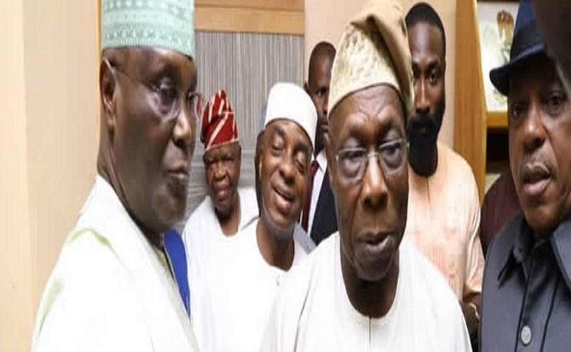 PHOTOS: Atiku, Oyedepo, Gumi, Kukah, Adebanjo, others meet Obasanjo