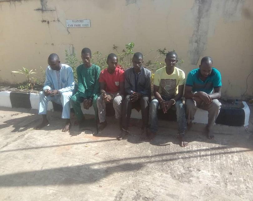DSS Capture Six Men Who Reportedly Killed Kaduna Monarch (Photo)