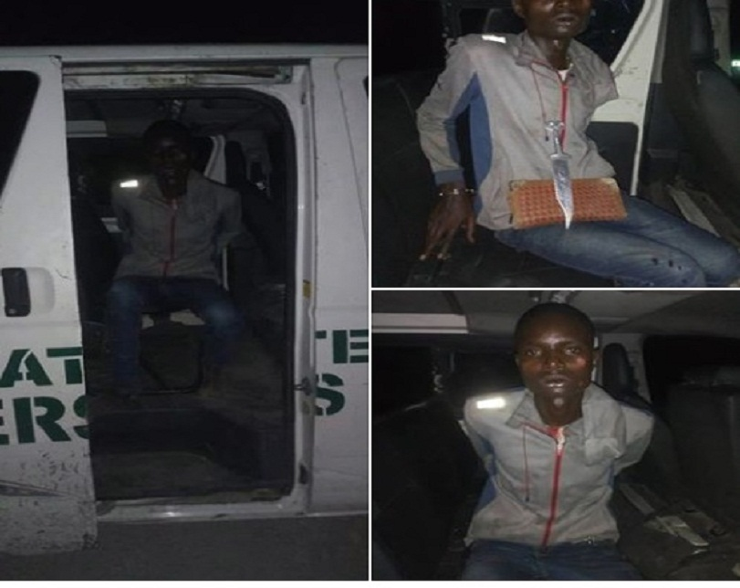 21-Year-Old Cultist Arrested While Attacking Lady In Bayelsa (Photos)