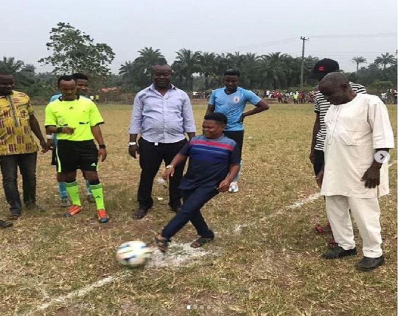 Famous Actor, Osita Iheme Kicks Off His Own Football Competition In Imo (Photos)