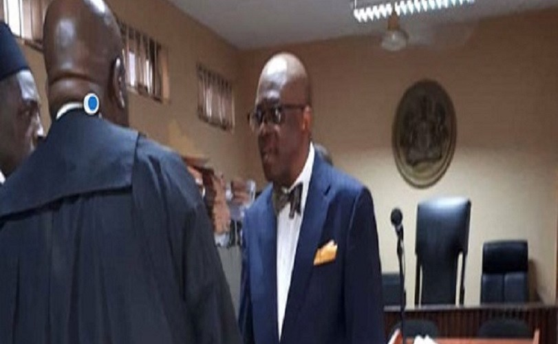 NBA President, Paul Usoro Arrives Court For Arraignment After Allegedly Laundering N1.4 Billion (Photos)