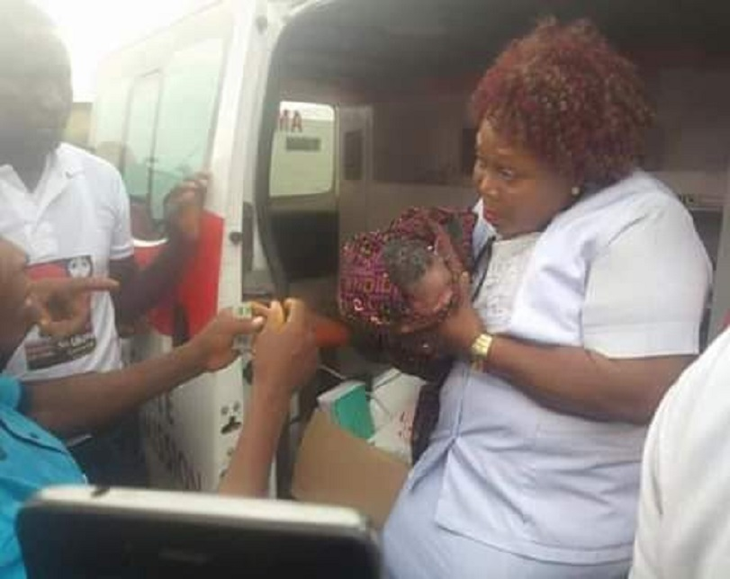 Woman Gives Birth To Baby Girl During PDP Campaign In Delta