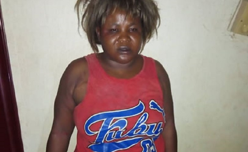 Photo Of Woman Caught Red-handed Stealing A Newborn Baby In Anambra Hospital