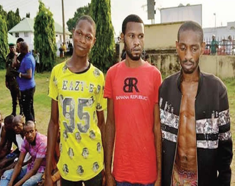Notorious Robbers Operating In NYSC Uniform Busted