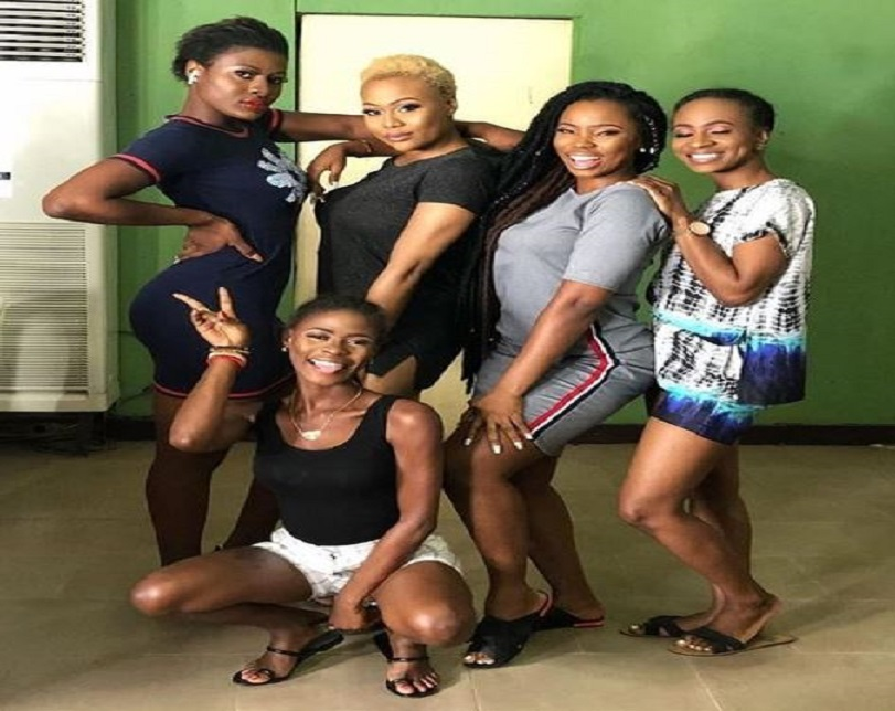 BBNaija 2018 Stars Meet Again, Pose For Picture