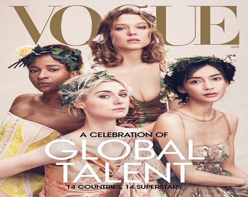 Actress, Adesua Etomi covers Vogue with 13 other 'global superstars'