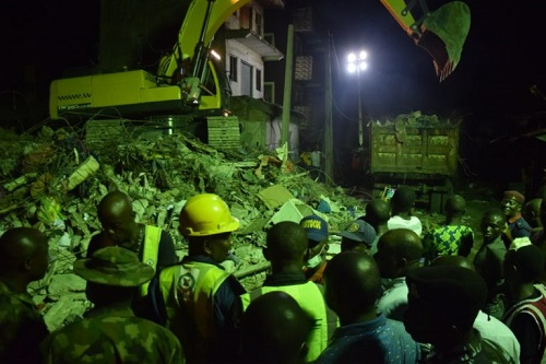 Lagos Collapsed Building: We Have Rescued All Trapped Victims – LASEMA