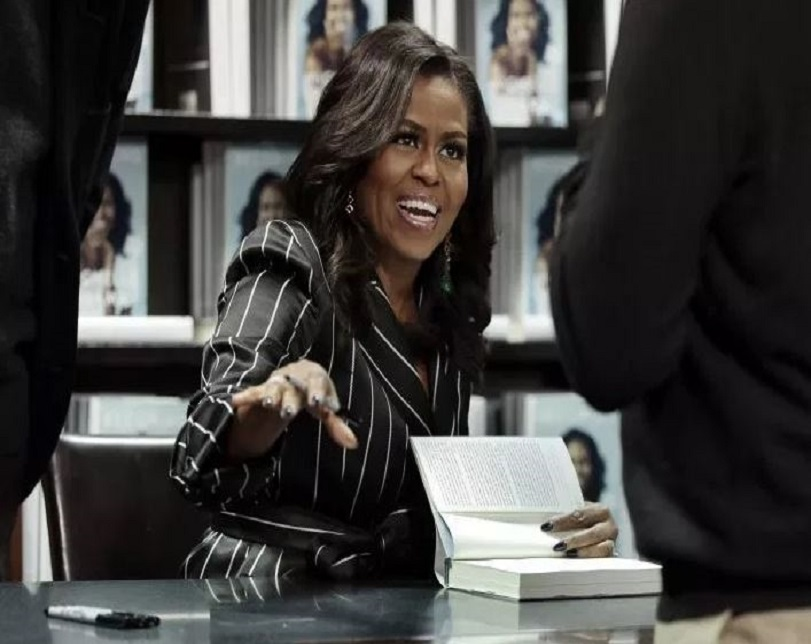 Former First Lady, Michelle Obama Set To Make History With Her Memoir