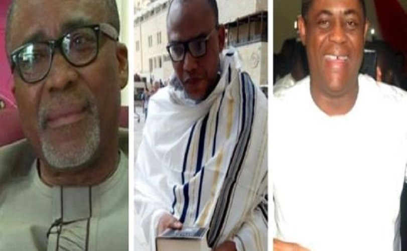 Nnamdi Kanu: Court Takes Decision On Arrest Of Fani-kayode, Abaribe, Others