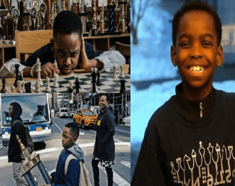 Lucky Nigerian Boy Who Won Chess Trophy In US Raises Over $100,000 In 48 Hours