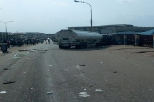 Breaking: Tanker fire kills 5 along Abuja-Lokoja Road in Kogi