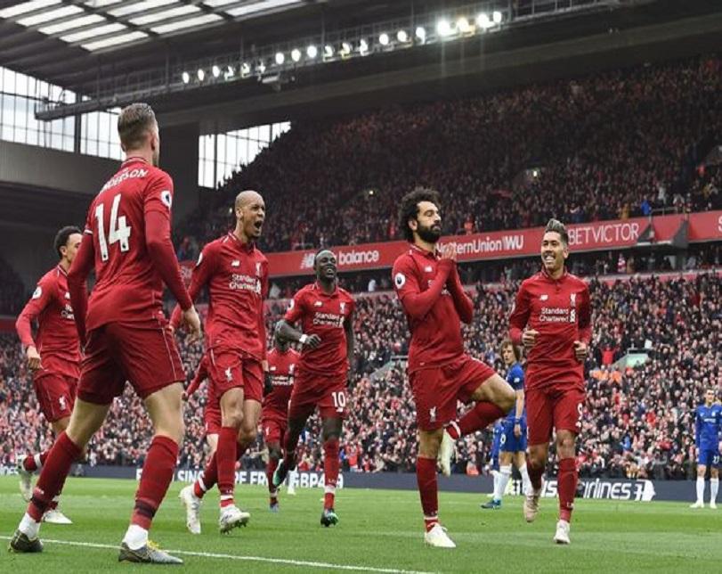 Salah stunner down Chelsea