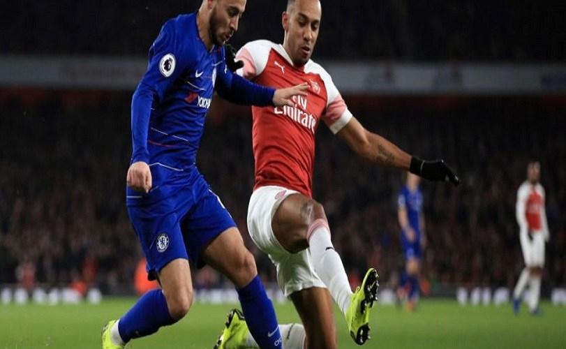 Iwobi scores but Chelsea thump Arsenal 4-1 to win Europa