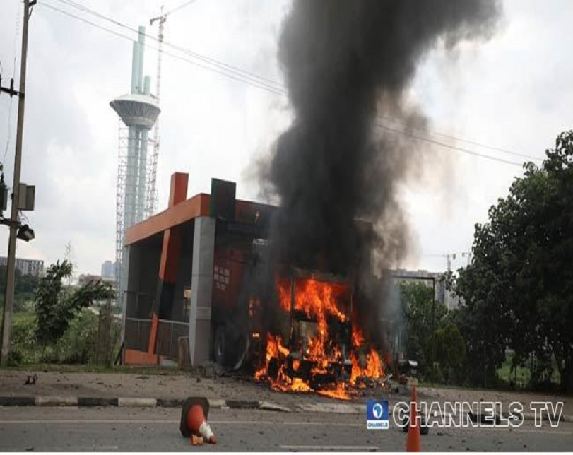 Channels TV Reporter Shot As Shiite Protesters Clash With Police In Abuja (Photos)