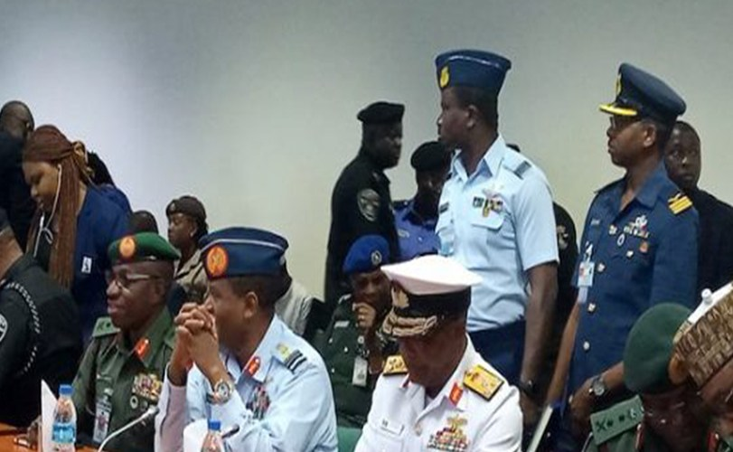 Finally, service chiefs appear before Reps