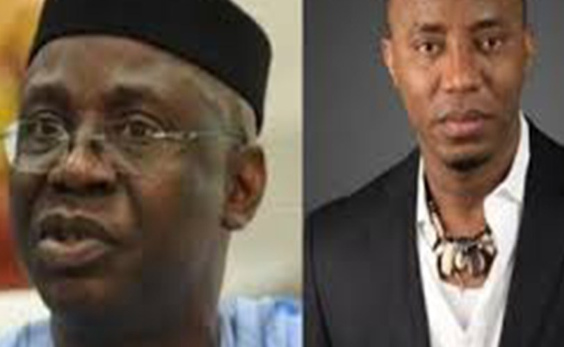 El-Rufai's son, Tunde Bakare and Sowore