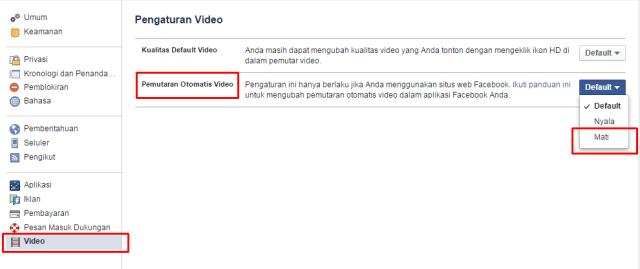 cara mudah stop autoplay video