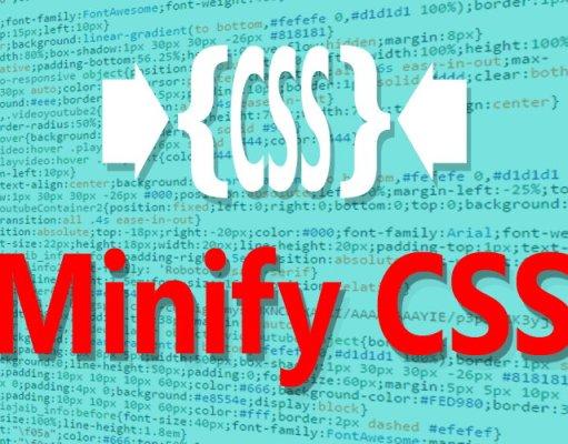 Cara Manual Penggunaan Minify Pada HTML, CSS, dan JavaScript