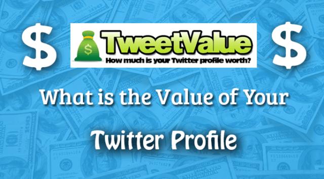 Cara Periksa Nilai Twitter Profil Menggunakan Tweetvalue