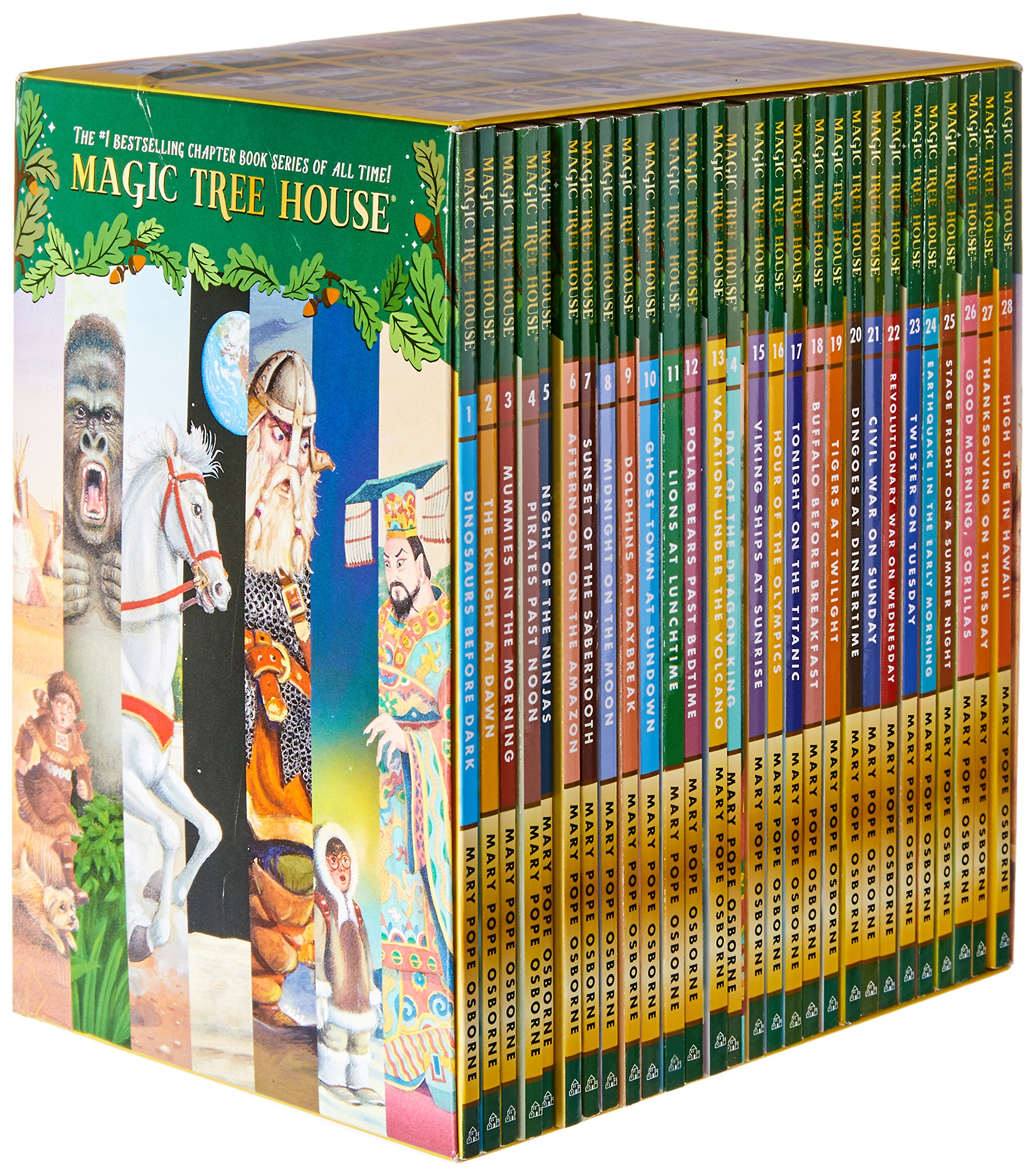 Magic Tree House 1 28 29 55