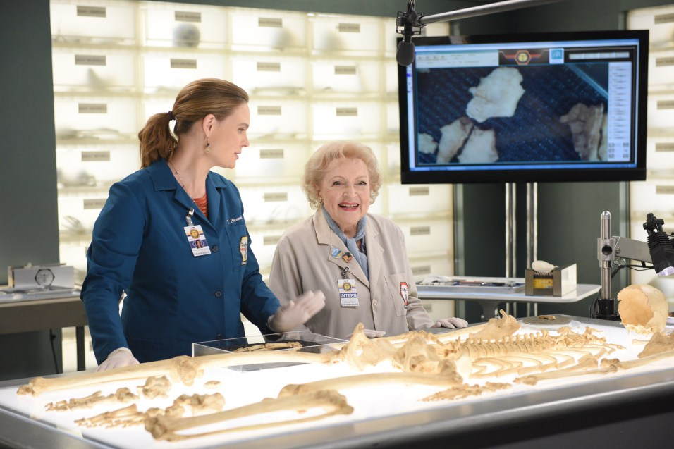 Betty White in Bones