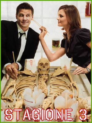 Locandina Bones stagione 3