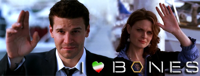 Booth e Brennan salutano dal molo