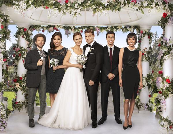 Bones cast al matrimonio di Booth e Brennan