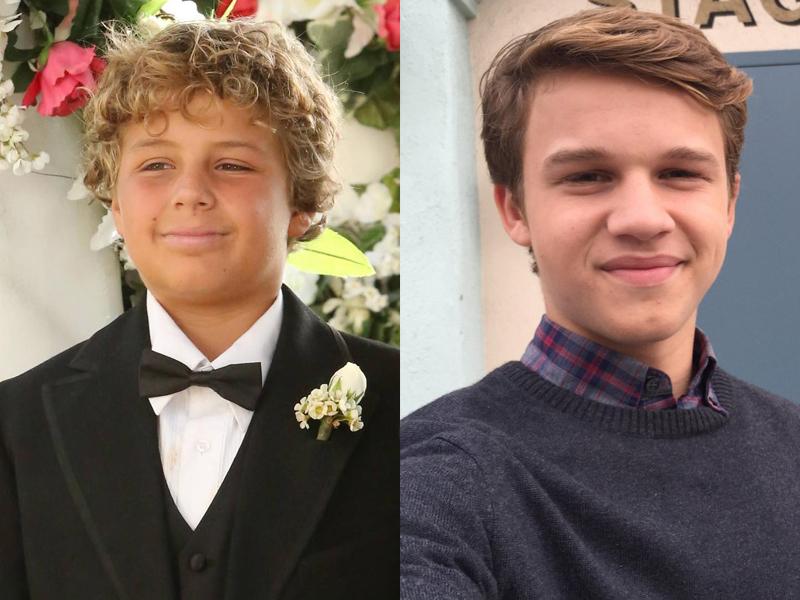 Gli attori che interpretano Parker Booth, il figlio di Seeley in Bones