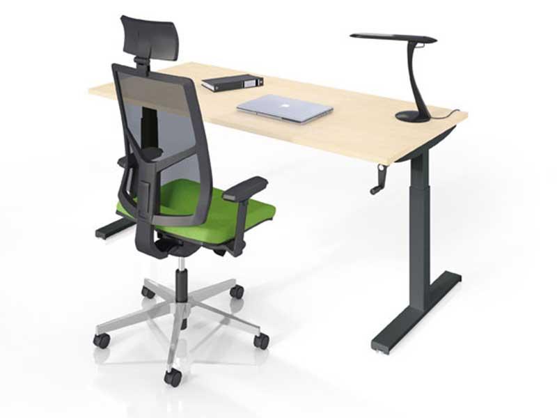 bureaux reglables en hauteur easy up