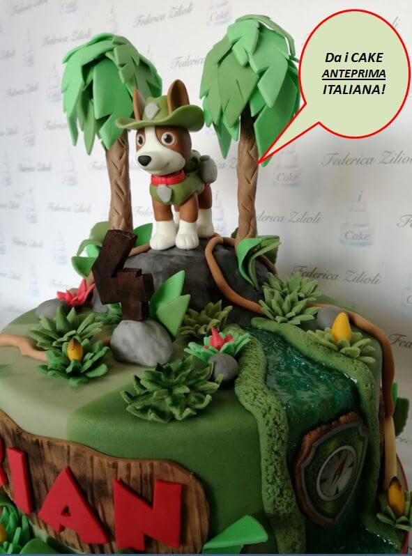 Torta Cake Design Tracker Paw Patrol Cake Design Brescia