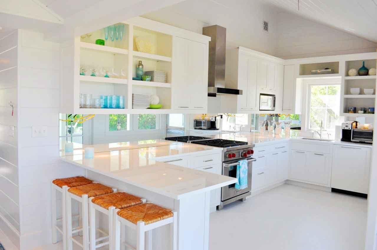 Galera de imgenes Decoracin de cocinas blancas
