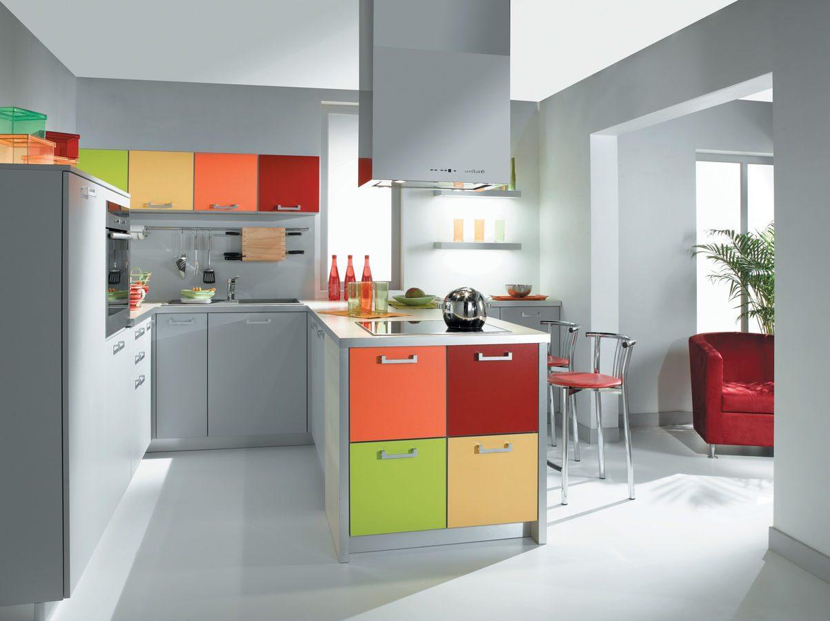 Cocina de colores animados  Imgenes y fotos