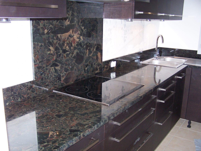 plan de cuisine en granit