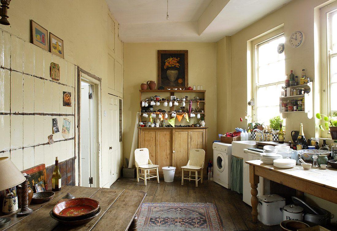 Encimera vintage para la cocina  Imgenes y fotos