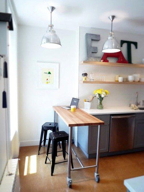 Muebles multifuncionales para la cocina  Imgenes y fotos