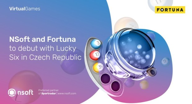 NSoft-and-Fortuna-Cooperation NSoft and Fortuna to debut with Lucky Six in Czech Republic