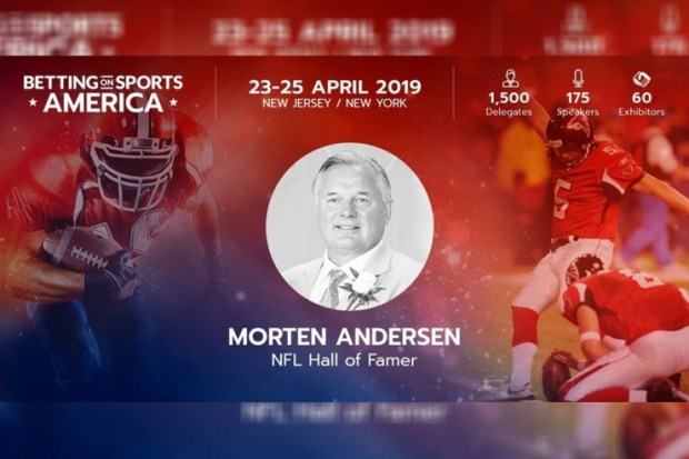 7-4 Better Collective ambassador Morten Andersen to deliver speech at Betting on Sports America
