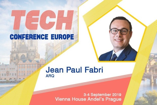 Jean-Paul-Fabri-Announcements-Tech-2019 Fintech investments in Europe up to 23bn EUR, Dr. Jean Paul Fabri (ARQ Economic & Business Intelligence) will add to the subject at TCE2019