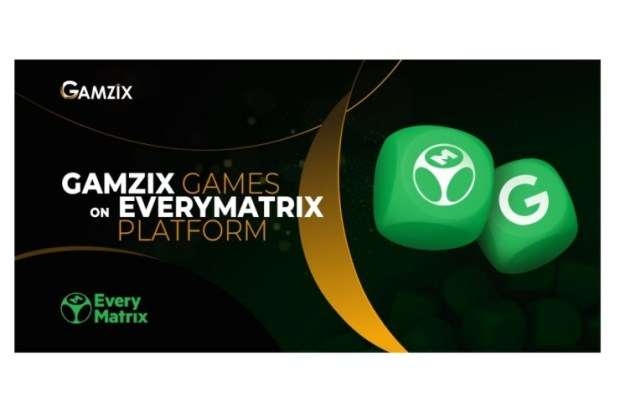 Gamzix stars cooperation with EveryMatrix