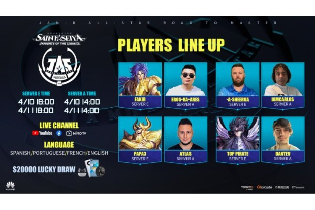 Mobile esports tournament, Jamir All Star to take place this weekend