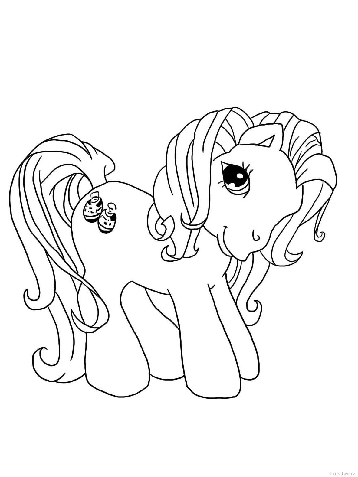 My little Pony omalovánky i-creativecz - Inspirace